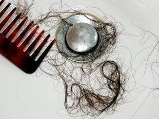 Haare im Abfluss